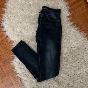 BUFFALO dark wash denim skinny jeans 25